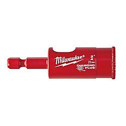 Milwaukee Tool 3/4-inch Diamond Plus Hole Saw w/ Arbor
