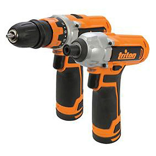12V Drill/Driver and Impact Driver Combo Kit