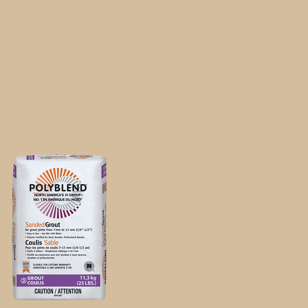 Custom Building Products #122 Linen Polyblend