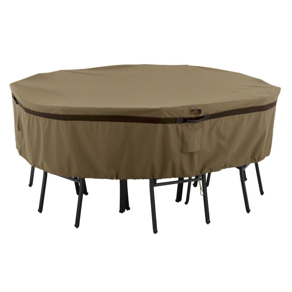 Hickory Table & Chair Set Cover - Round, Medium