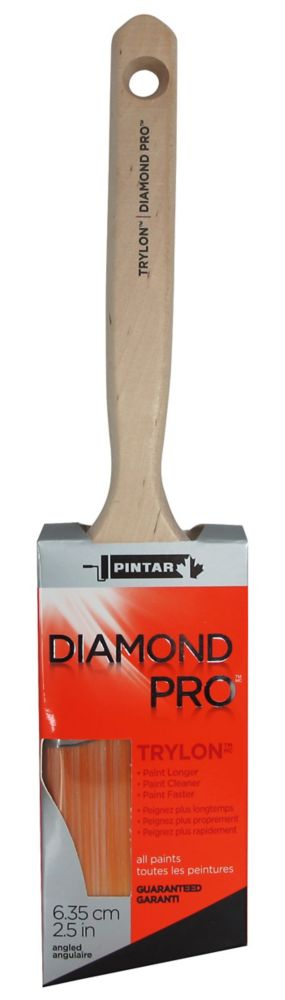 Pintar Diamond Pro 2 1/2-inch (63mm) Angular Sash Paint Brush