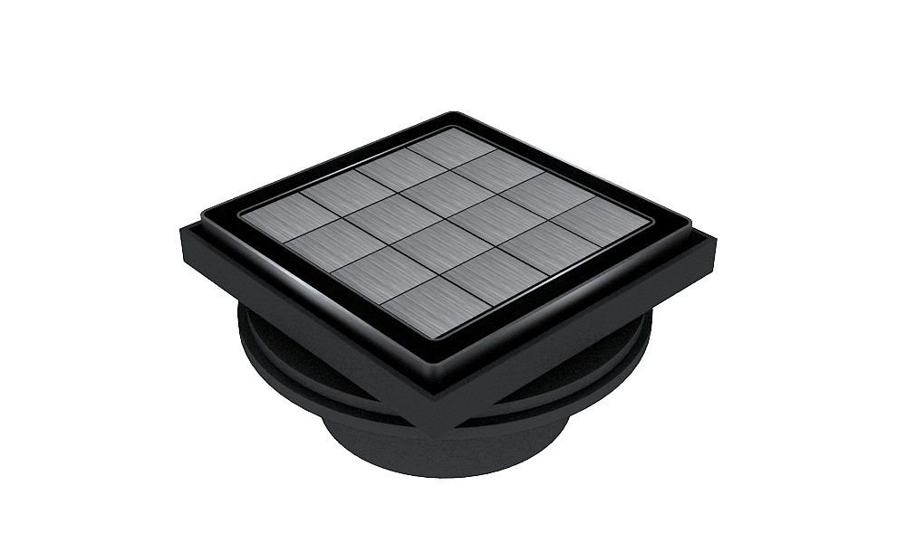 Square Drain Tile-Insert SQD-PSS-T-5 Create an Invisible Look by Using Your Own Tile