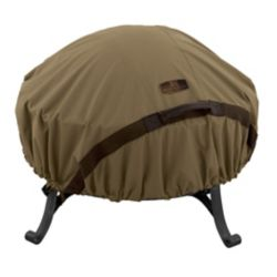 Classic Accessories 60-inch Hickory Round Fire Pit Cover