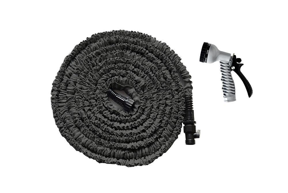 Advantage Advantage 50 ft. Expanding Garden Hose with Nozzle