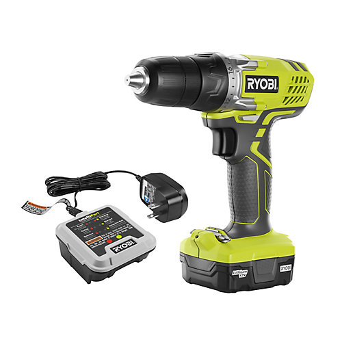 12V Lithium-Ion Cordless 3/8 -inch Drill/Driver Kit with 12V Battery and Charger