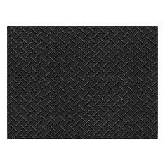 Grid Pattern 3 ft. x 4 ft. Heavy Duty Mat