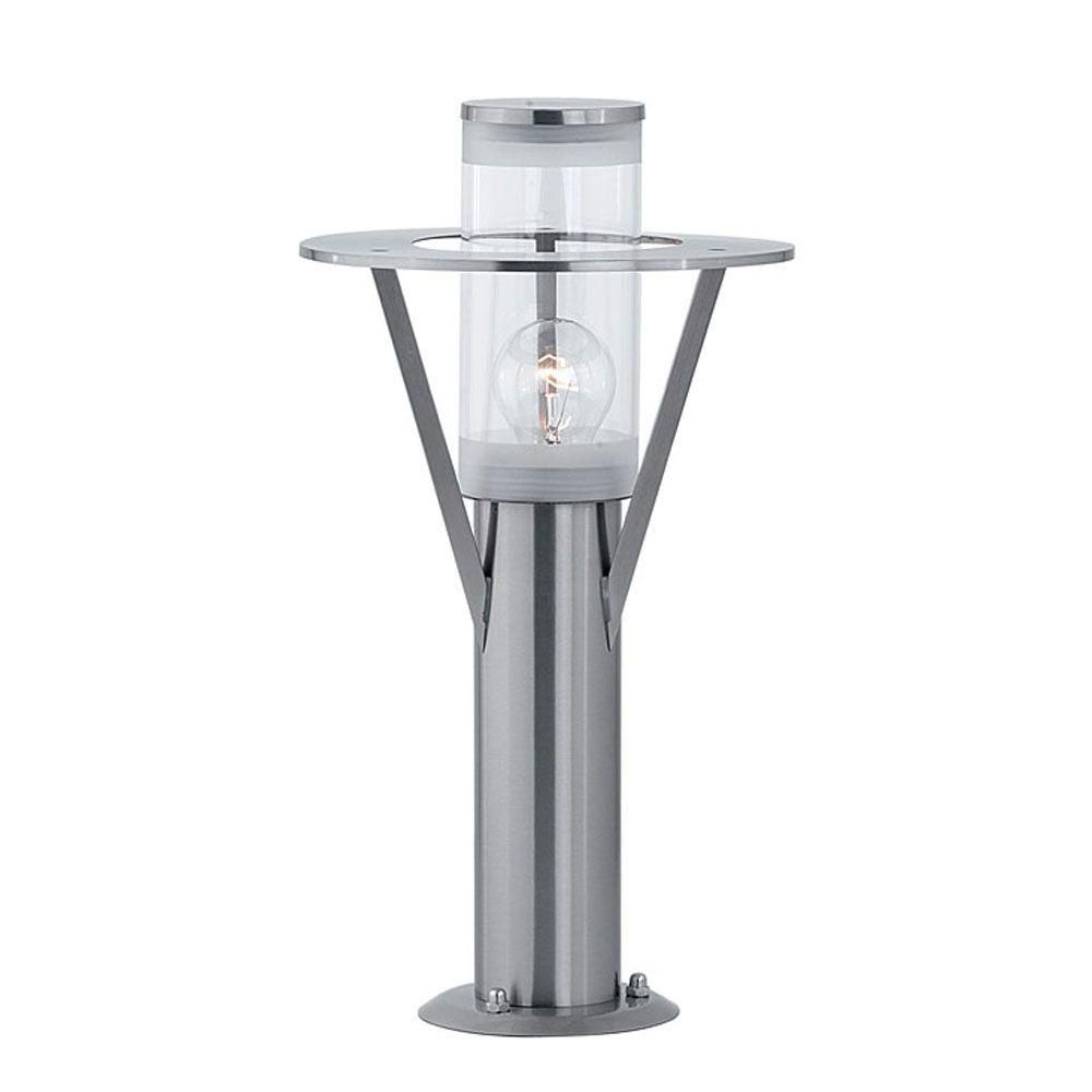 ROI Post Light 1L, Silver Finish, Opal Plastic Shade 88156A Canada Discount