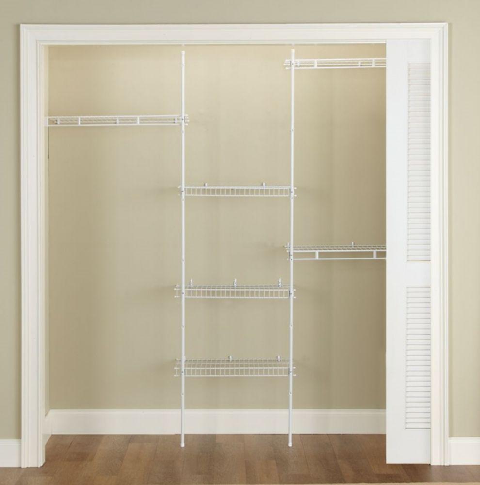 5-8 Feet  Direct Mount Closet Kit