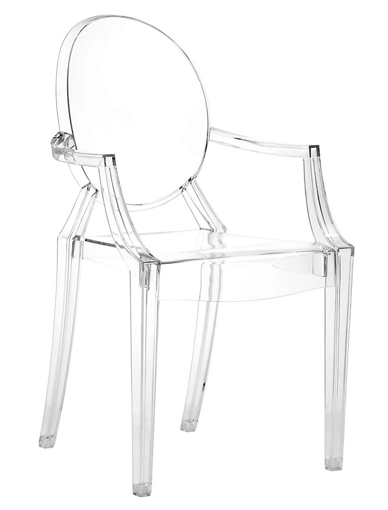 Zuo Modern Patio Furniture.Anime Transparent Patio Dining Chair Set Of 4