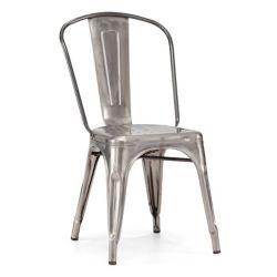 Zuo Modern Elio Patio Chair in Gunmetal