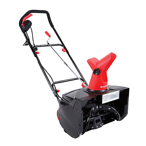 MAX 18-inch 13.5-Amp Electric Snow Blower with Light