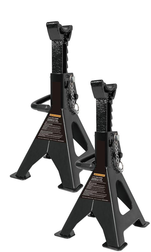 HUSKY 3-Ton Jack Stand (Pair)