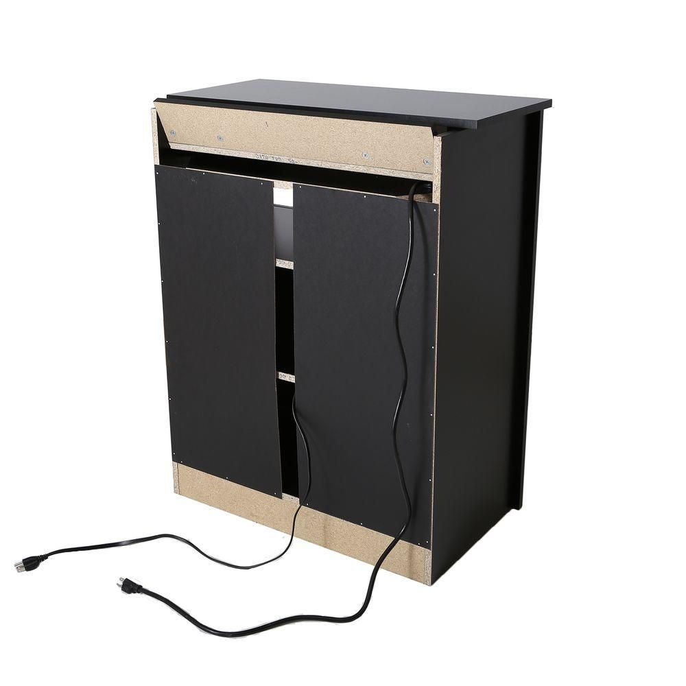 Bel Air Charging station cabinet, Pure Black