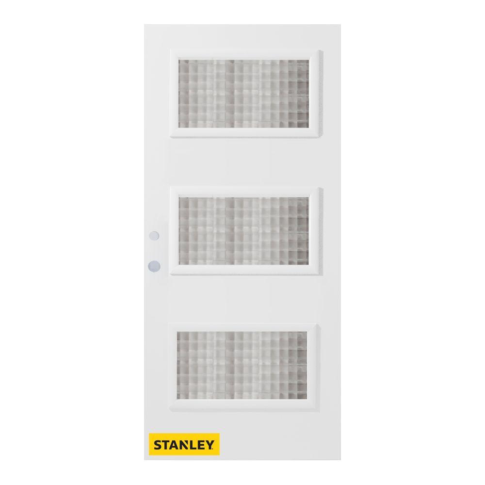 Stanley doors 32 in x 80 in dorothy carr 3 lite for Exterior doors home depot canada