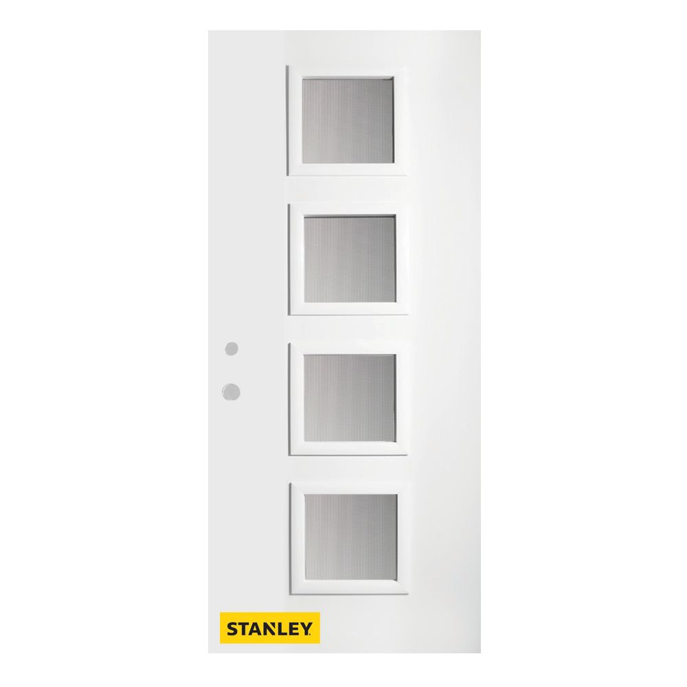 Stanley doors 36 inch x 80 inch evelyn screen 4 lite pre for Home depot exterior doors canada