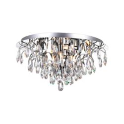 CWI Lighting 18 Inch Modern Round Flush Mount