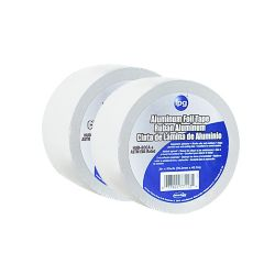 "ipg Intertape Polymer Group CVC usage général 1.5 MIL Aluminium Foil Tape 3"" x 50 Yards - Pack 2"