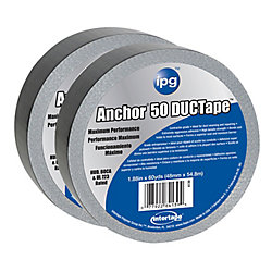 "ipg Intertape Polymer Group CVC premium 14 MIL Duct Tape 1.88"" x 60 Yards - Pack 2"
