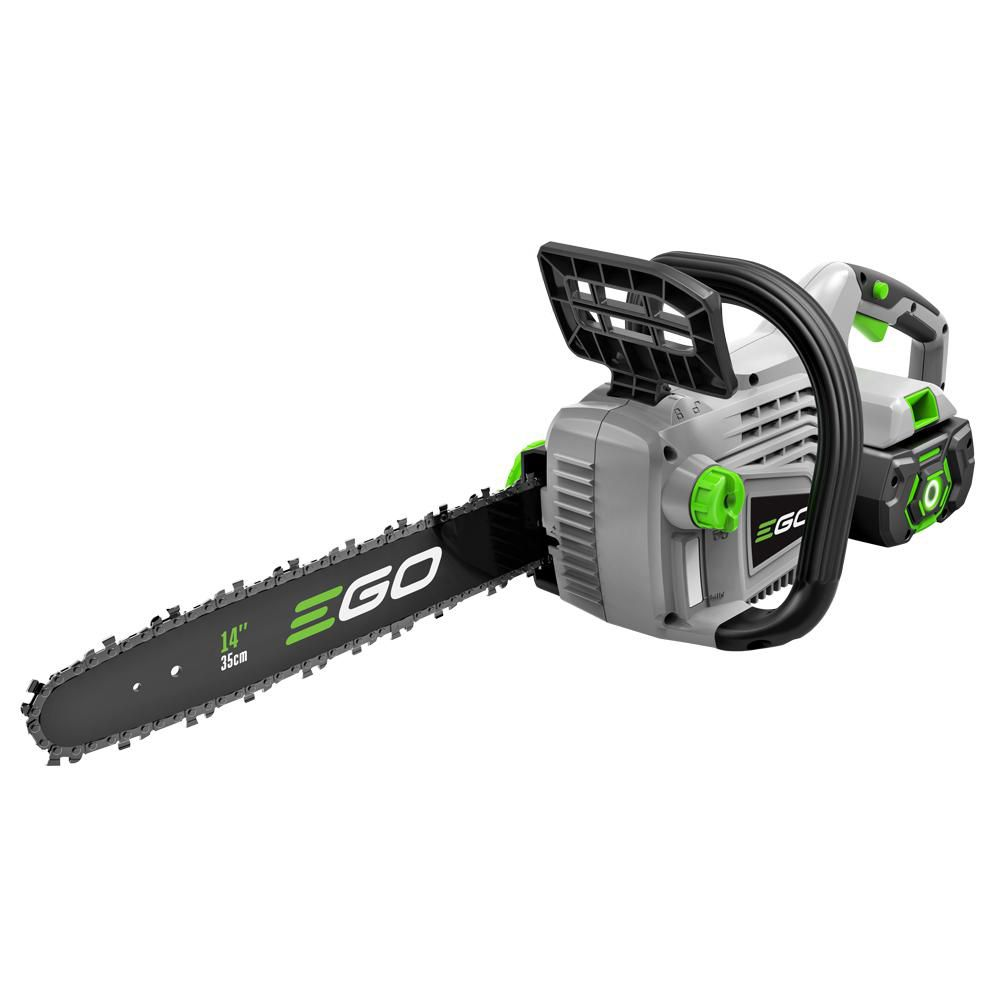 EGO 14-inch 56V Li-Ion Cordless Chainsaw with 2.0Ah Battery and Charger Included