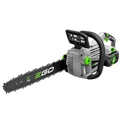 EGO 14-inch 56V Li-Ion Cordless Chainsaw Kit - 2.0Ah Battery and Charger included