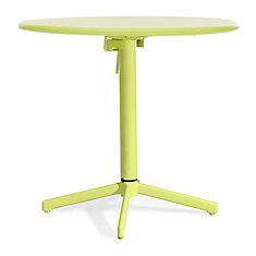Big Wave Folding Round Table Lime