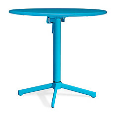 Big Wave Folding Round Table Aqua