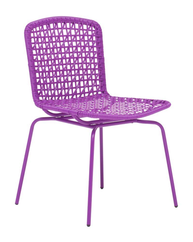 Silvermine Bay Chair Purple 703056 Canada Discount