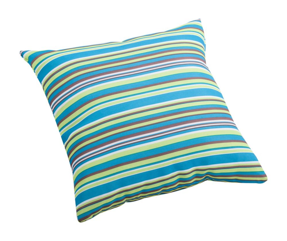 Puppy Small Pillow Multicolor stripe