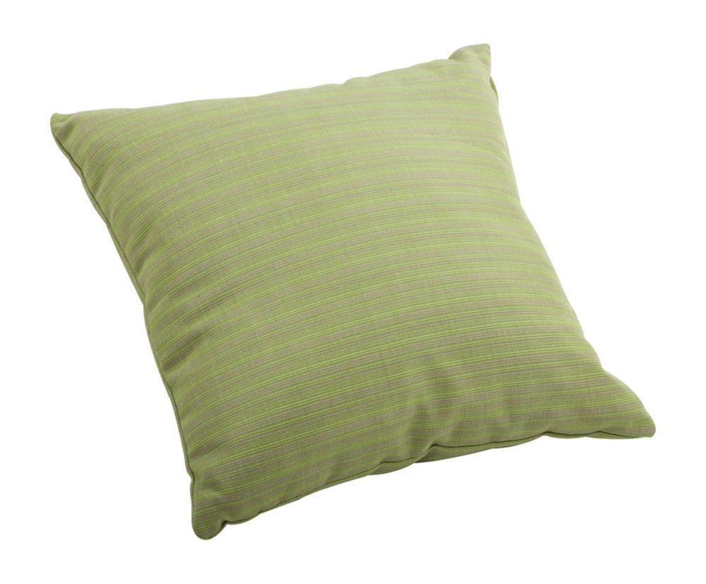 Cat Small Pillow Apple Green Linen