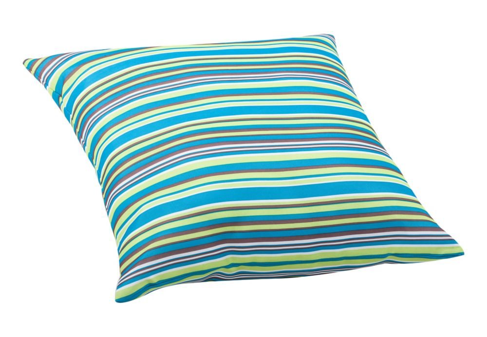 Puppy Large Pillow Multicolor stripe