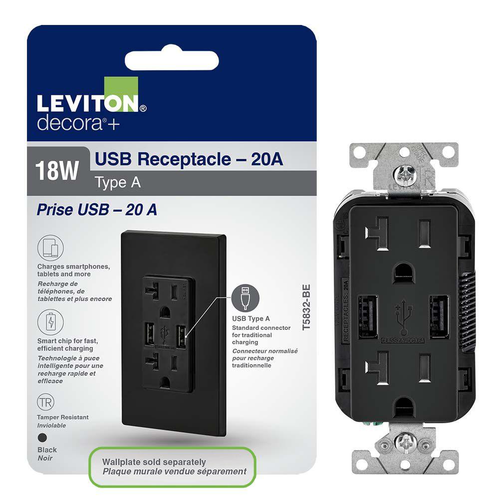 Decora 15 Amp Tamper-Resistant AFCI Receptacle/Outlet | The Home ...