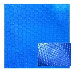 Blue Wave 16 ft. x 32 ft. 12-mil Solar Blanket for In-Ground Pools in Blue