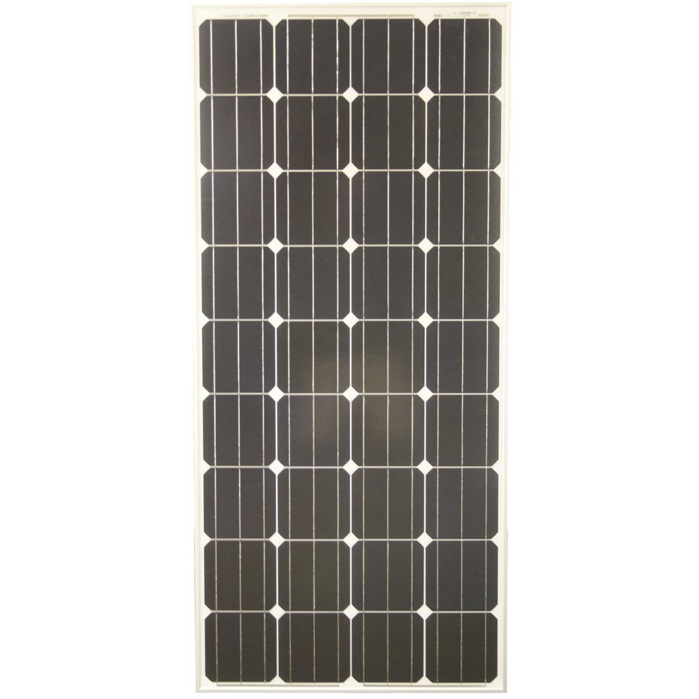 160-Watt Monocrystalline PV Solar Panel for Cabins, RV's and Back-up Power Systems