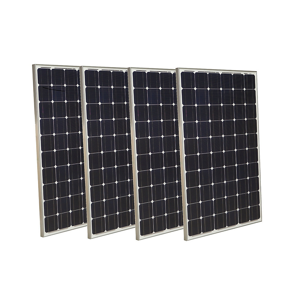 250-Watt Monocrystalline Solar Panel (4-Pack)
