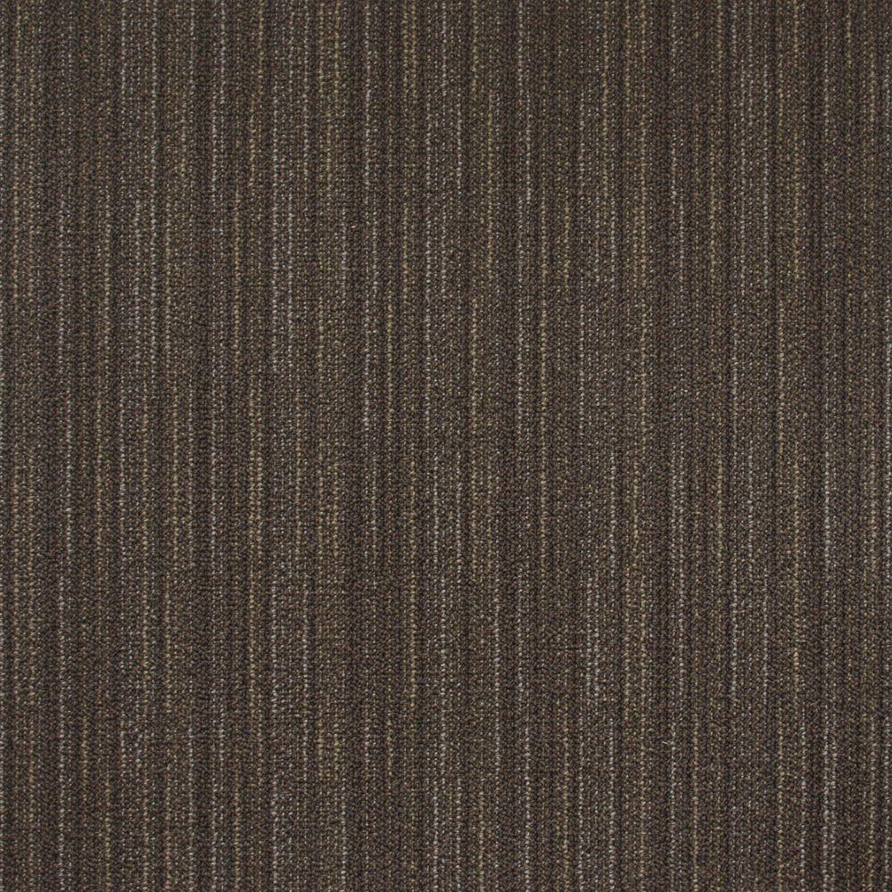 Fibercore Studio French Silver 19.7-inch x 19.7-inch Carpet Tile (54 sq. ft. / case)