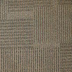 Carreau de tapis Dialogue - couleur Woven Straw  50cm x 50cm - 54 pi² (5,0168 m²) par boîte