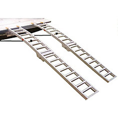 Folding Arched Loading Ramp