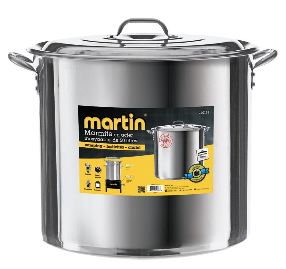 Stainless Steel Pot 50 lt.