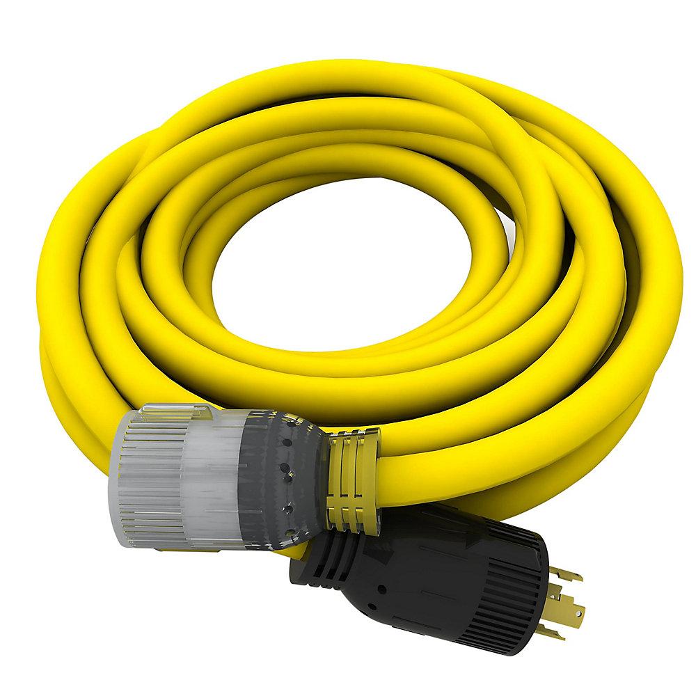 240v Extension Cord >> Universal 25 Ft 10 4 240v Generator Extension Cord