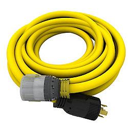 DEK Cordons électrique de génératrice  de 25 pi 10/4  240V