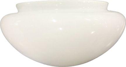 18,73cm Verre, Fini blanc