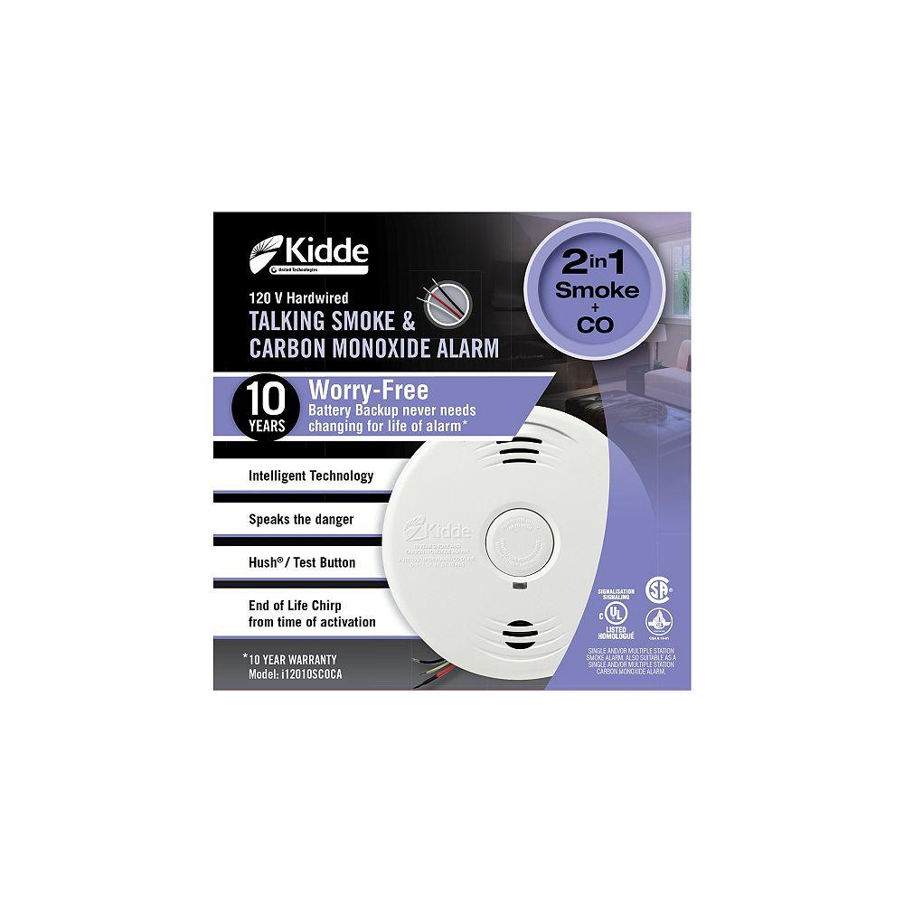 Kidde Worry-Free Hardwire Smoke and Carbon Monoxide Alarm i12010S-CO-CA