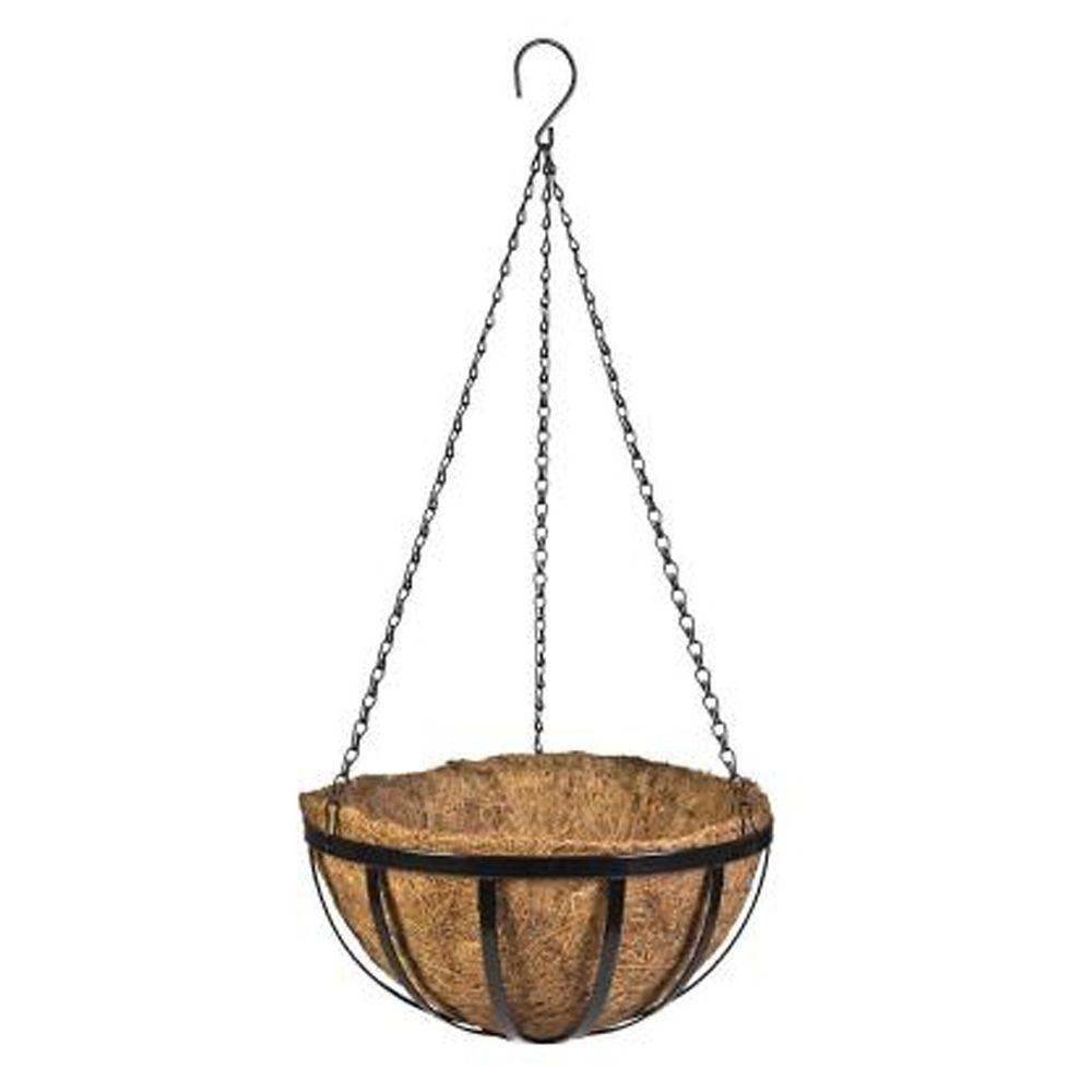 16 Inch English Coco Hanging Basket