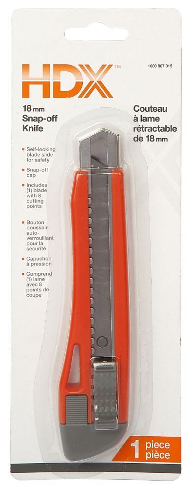 18mm Snap-Off Knife 98394 Canada Discount