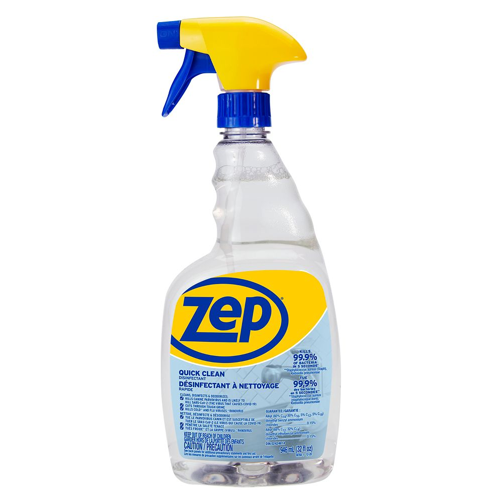 Zep Commercial Quick Clean Disinfectant 946ml The Home