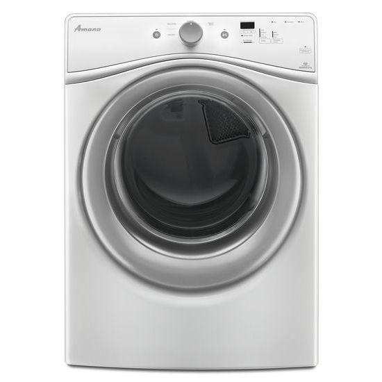 7.3 cu. ft. Gas Dryer with Efficiency Monitor in White
