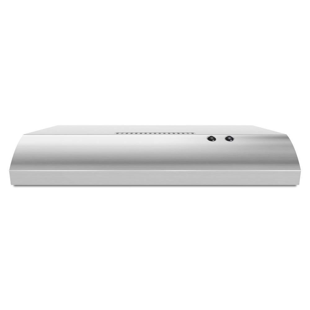 Whirlpool 30-inch Under the Cabinet Range Hood in Stainless Steel