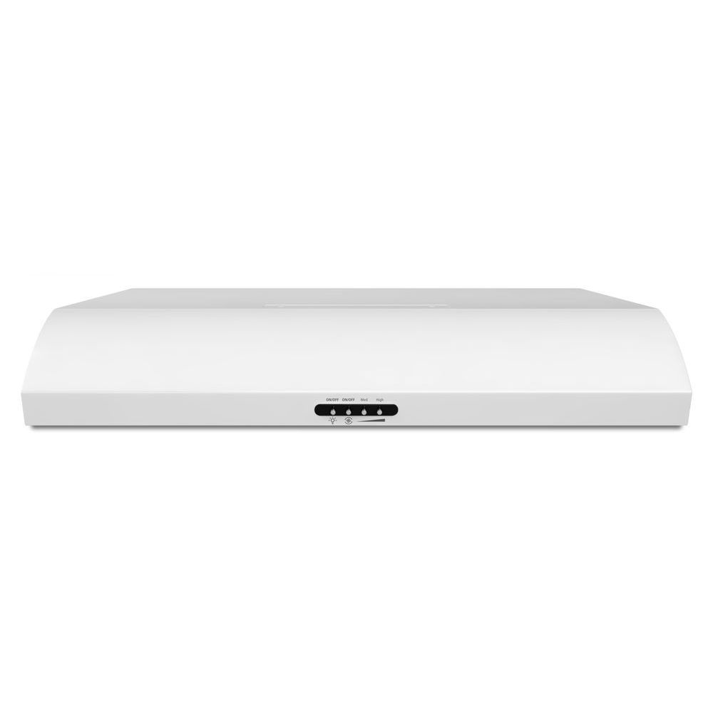 30-inch, 350 CFM Range Hood with FIT System in White