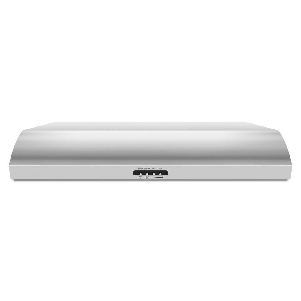 30-inch, 350 CFM Range Hood with FIT System in Stainless Steel