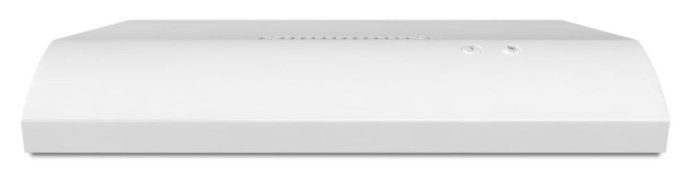 36-inch, 190 CFM Range Hood with FIT System in White